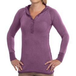 Aventura Clothing Overton Hoodie - Button Neckline (For Women)