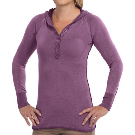 Aventura Clothing Overton Hoodie - Button Neckline (For Women)