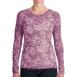 Aventura Clothing Jasper Burnout Shirt - Long Sleeve (For Women)
