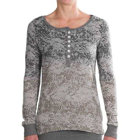 Aventura Clothing Jenai Henley Shirt - Built-In Tank Top, Long Sleeve (For Women)