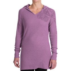 Aventura Clothing Cassidy Thermal Hoodie - V-Neck (For Women)
