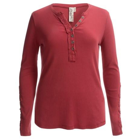 Aventura Clothing Tavia Henley Shirt - Organic Cotton, Long Sleeve (For Women)