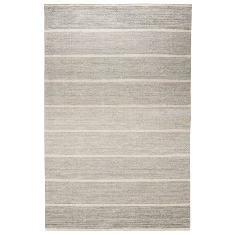 """HRI Kabash Collection Reversible Area Rug - 5'x7'8"""", Hand-Loomed Wool"""