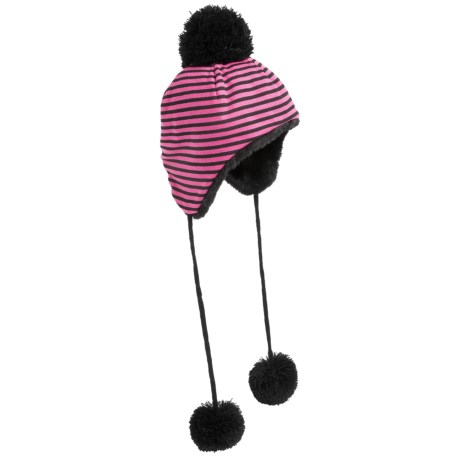 San Diego Hat Company Tasseled Pompom Trapper Hat (For Infants and Kids)