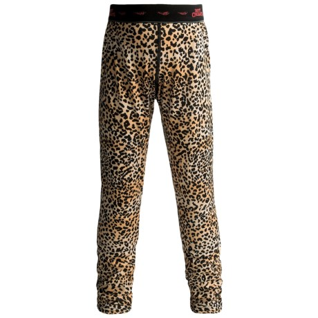Hot Chillys Peachskins Print Base Layer Bottoms - UPF 30+, Midweight (For Youth)