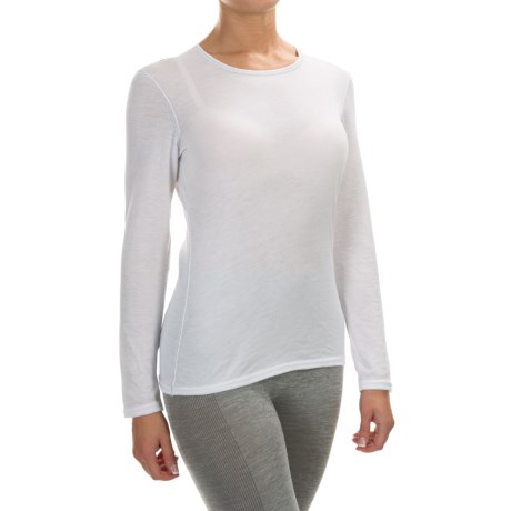 Hot Chillys Pepperskins Base Layer Top - Midweight, Crew Neck, Long Sleeve (For Women)
