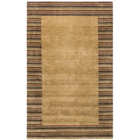 HRI European Collection Area Rug - 5x8', Hand-Loomed Wool