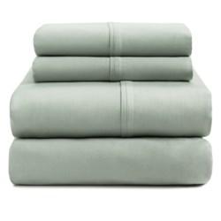 Bay & Gable Home Interiors Organic Cotton Sateen Sheet Set - 230 TC, Queen