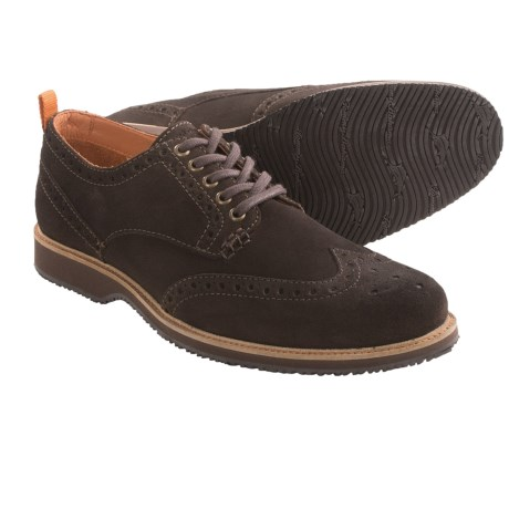 Tommy Bahama Elliot Oxford Shoes - Wingtips, Suede (For Men)