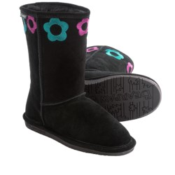 Bearpaw Jessie Sheepskin Boots - Suede (For Kid and Youth Girls)