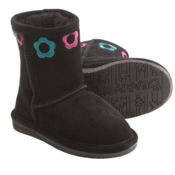 Bearpaw Jessie Sheepskin Boots - Suede (For Toddlers)