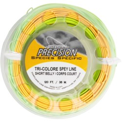 Cortland Precision Spey Short Belly Double-Handed Fly Fishing Line - Weight forward, Floating, 120'