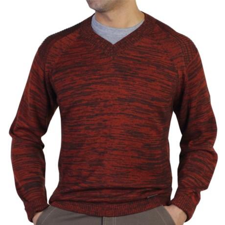 ExOfficio Cafenisto V-Neck Sweater - Wool Blend (For Men)
