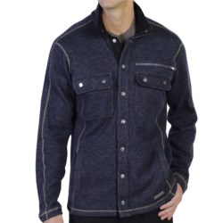 ExOfficio Ruvido Shirt Jacket Sweater - Snap Front (For Men)