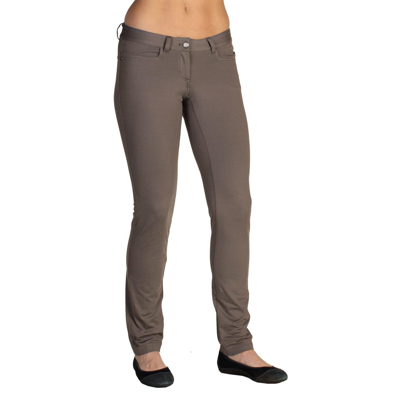 New White Sierra Nylon Slider Pants (For Women) 2441R - Save 66%