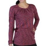 ExOfficio Chica Cool Gathered Neck Tunic Shirt - Dri-Release®, Long Sleeve (For Women)