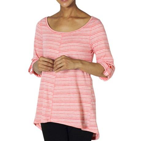 ExOfficio Go-To Stripe Tunic Shirt - Dri-Release®, 3/4 Sleeve (For Women)