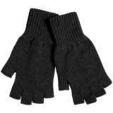 Johnstons of Elgin Fingerless Cashmere Gloves (For Women)