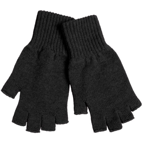Johnstons of Elgin Fingerless Cashmere Gloves (For Women)