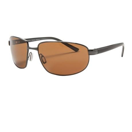 Serengeti Trapani Polarized Sunglasses - Polarized, Photochromic Glass Lenses