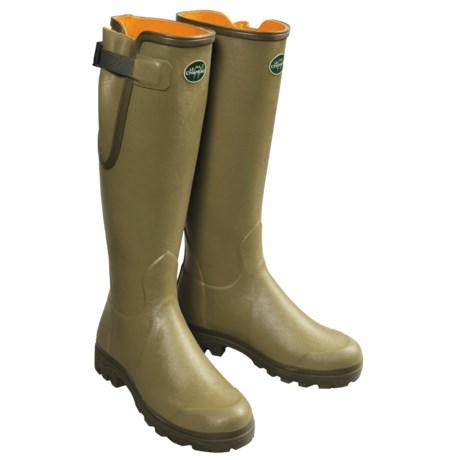 Le Chameau Verizon Premium Rubber Boots (For Men)