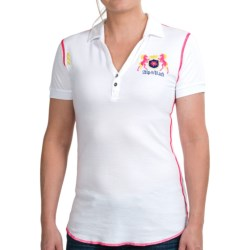 Alp-N-Rock Modal-Cotton Polo Shirt - Short Sleeve (For Women)