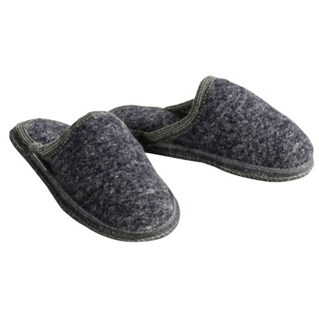 Wesenjak Slipper Slides - Boiled Wool (For Women)