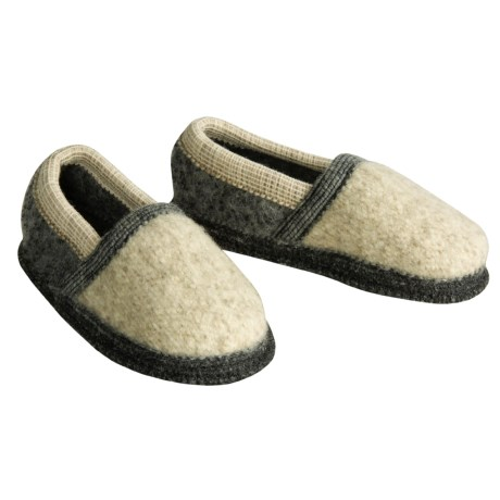 Wesenjak Boiled Wool Moc Slippers (For Kids and Infants)