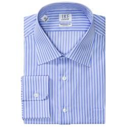 Ike by Ike Behar Stripe Dress Shirt - No-Iron Cotton, Long Sleeve (For Men)