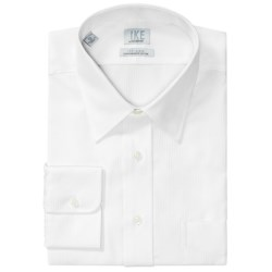 Ike by Ike Behar Herringbone Dress Shirt - No-Iron Cotton, Long Sleeve (For Men)