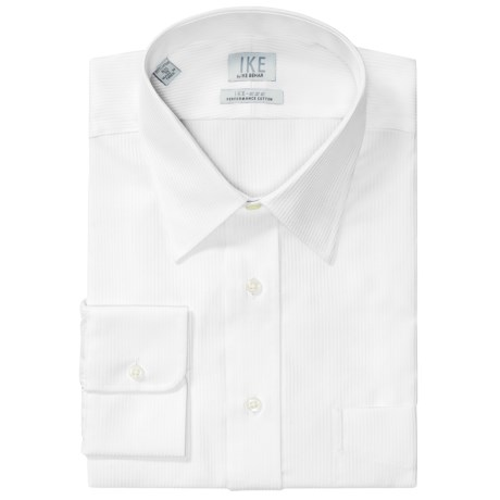 Ike Behar Ike by  Herringbone Dress Shirt - No-Iron Cotton, Long Sleeve (For Men)