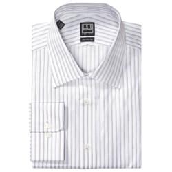 Ike Behar Black Label Stripe Dress Shirt - Long Sleeve (For Men)