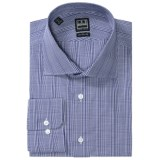 Ike Behar Black Label Glen Plaid Dress Shirt - Long Sleeve (For Men)