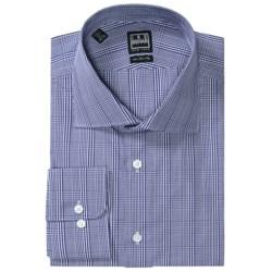 Ike Behar Black Label Glen Plaid Dress Shirt - Long Sleeve (For Men)