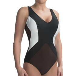 Color-Block Swimsuit (For Women)