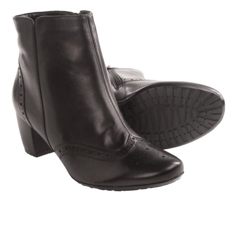 Ara Tallula Brogued Ankle Boots - Leather (For Women)