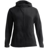 Lands' End ThermaCheck 100 Fleece Hoodie - Full Zip (For Plus Size Women)