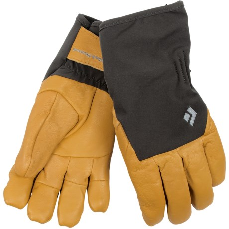 Black Diamond Equipment Rambla Gore-Tex® Gloves - Waterproof, Leather (For Men and Women)