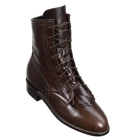 Justin Calfskin Lace-Up Boots (For Women)