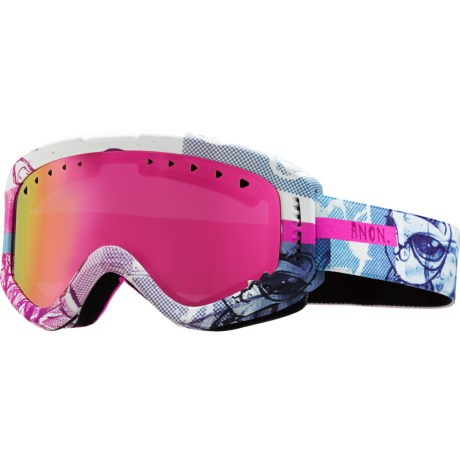 Anon Tracker Ski Goggles (For Big Kids)