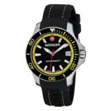 Wenger Sea Force Diving Watch - Silicone Strap (For Men)