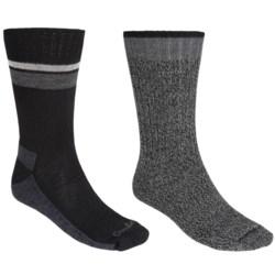 Goodhew Durango & Hudson Bay Socks - 2-Pack, Merino Wool-Alpaca, Crew (For Men)