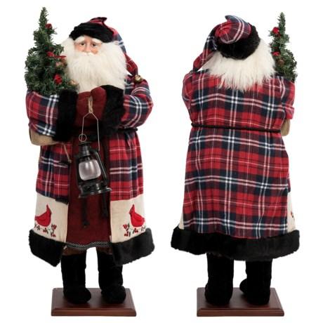 "Santa's Workshop Collectible Santa - 35"""