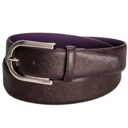Ike Behar Saffiano Dress Belt (For Men)