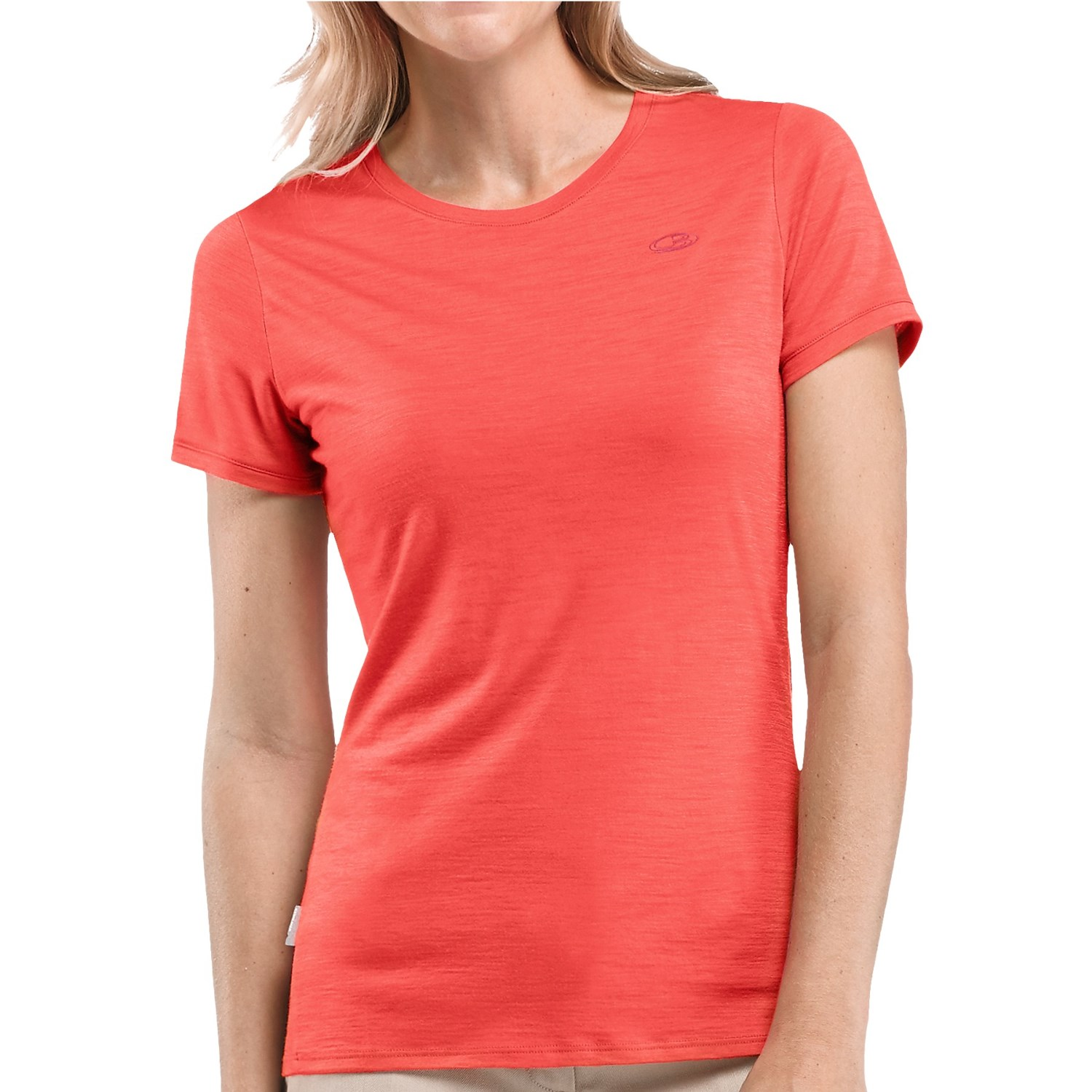 Icebreaker tech lightweight upf 30 t shirt for women for Merino wool shirts for travel