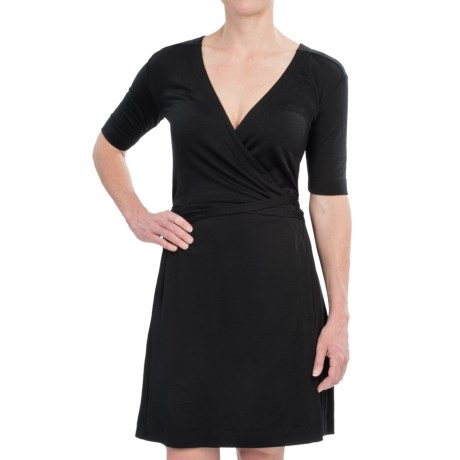 Icebreaker Roma Wrap Dress - UPF 50+, Merino Wool, Long Sleeve (For Women)
