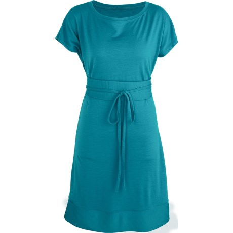 Icebreaker Allure Dress - UPF 30+, Merino Wool, Short Sleeve (For Women)