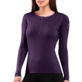 Icebreaker Bodyfit 200 Oasis Base Layer Top - Merino Wool, Henley (For Women)