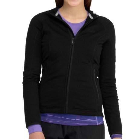 Icebreaker Cascade Hooded Jacket - UPF 30+, Merino Wool (For Women)