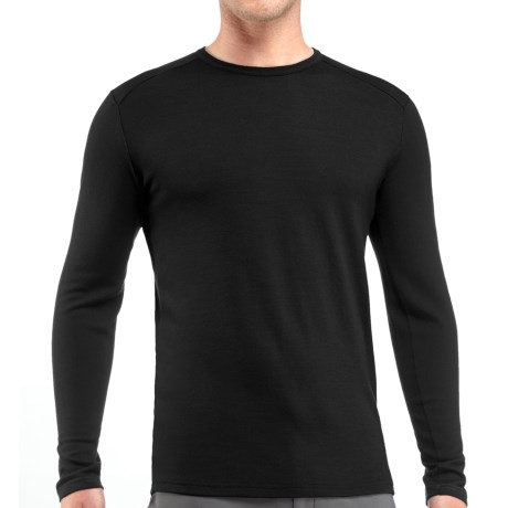 Icebreaker 2013 Bodyfit 260 Base Layer Top - Merino Wool, Crew Neck, Long Sleeve (For Men)